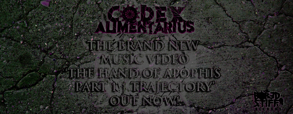 CODEX ALIMENTARIUS - HAND OF APOPHIS